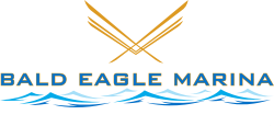 Bald Eagle Marina Sticky Logo