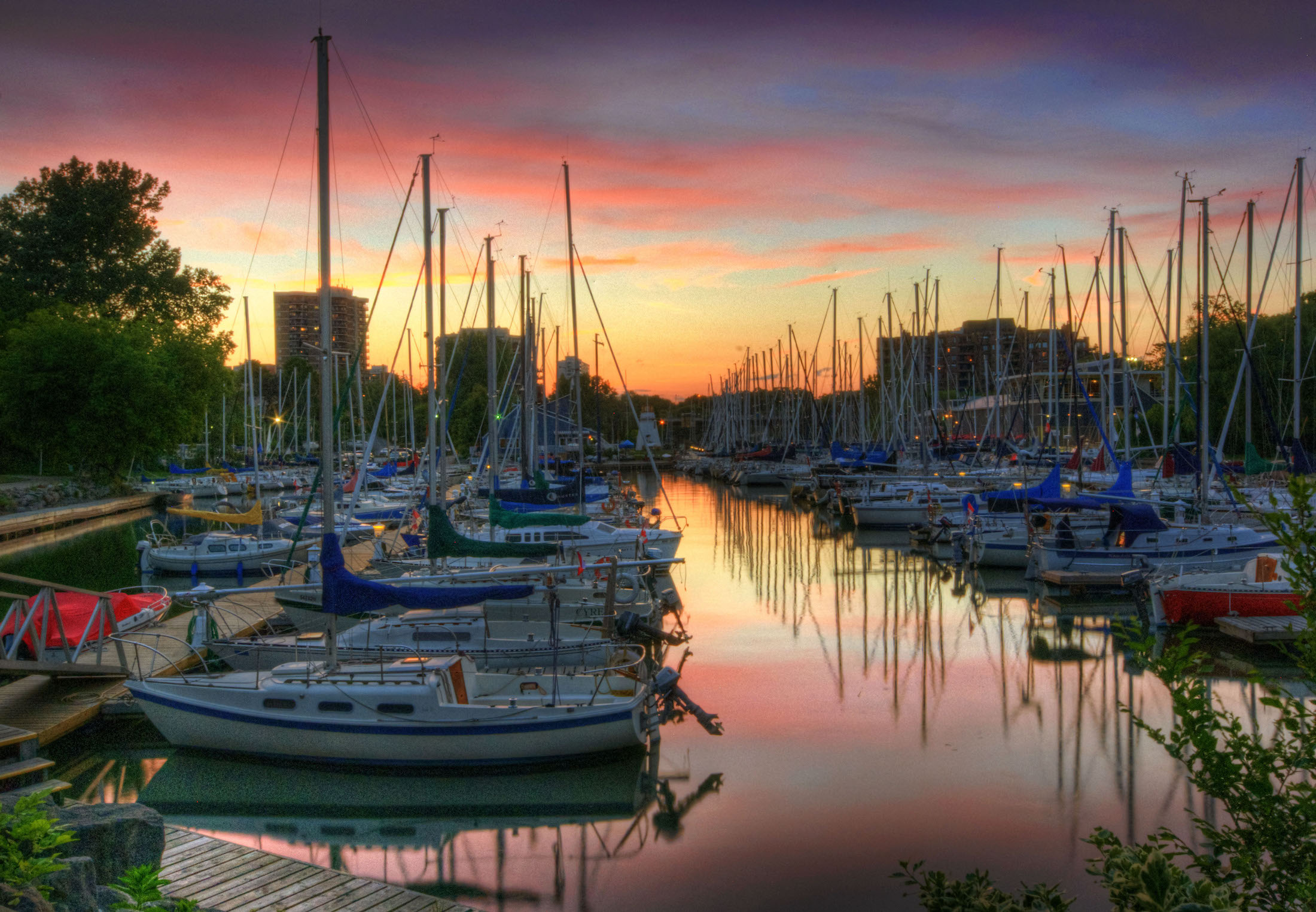 Photo of Oakville Ontario marina