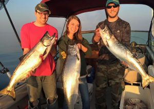 Photo of fishing charter on Lake Ontario