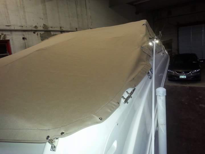 boat canvas work